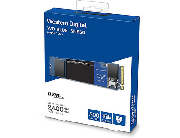 ổ cứng SSD WD Blue SN550 500GB NVME M.2 2280