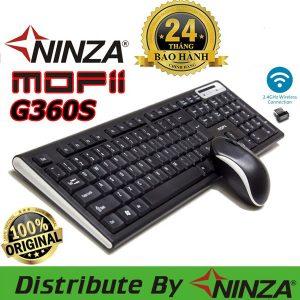 bộ phím chuột không dây g360s