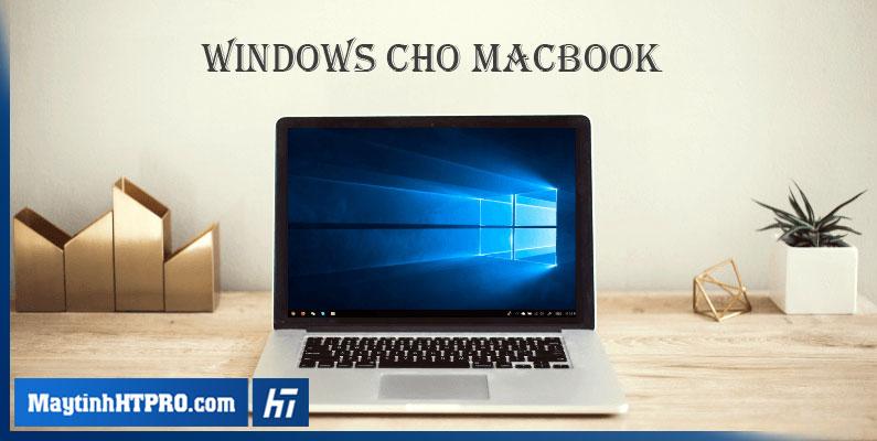 cài win cho macbook tại nhà